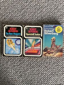 Robert Silverberg - Lot Of Three Vintage Paperbacks
