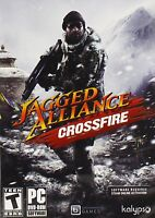 Jagged Alliance Crossfire PC Games Windows 10 8 7 XP Computer stand alone NEW