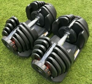 **Brandnew and Boxed 40kg Adjustable Dumbbells 80kg Pair Gym Fitness Weights**