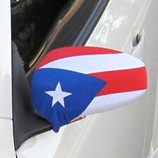 Puerto Rico Flag Side View Mirror Covers (Set of 2) NIB Car Bra Rican *FREE S/H*