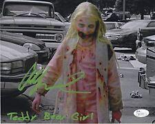 Addy Miller 8x10 Autographed Photo JSA Signed The Walking Dead Teddy Bear Girl 3