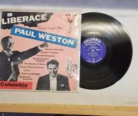 LIBERACE PAUL WESTON CONCERTOS FOR YOU VINYL LP ALBUM 1953 COLUMBIA MASTERWORKS