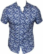 Ben Sherman Short Sleeve Button-Front Casual Shirts for Men