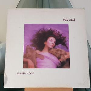 KATE BUSH - HOUNDS OF LOVE - UK EMI - KAB1 - 1985 - A4U/B6U - c/w lyric inner