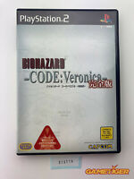 BIOHAZARD Code Veronica Complete Edition Sony Playstation2 PS2 JAPAN Ref: 313710