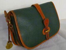 Vintage Dooney & Bourke~AWL~Over/Under~Ivy GREEN~ Handbag/Shoulder Bag/ Purse