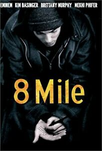 8 Mile Widescreen Edition On DVD With Eminem Drama Very Good E36