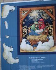 Nativity Door Panel - Christmas panel.  100% cotton.  CP50720