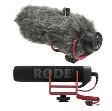 Rode VideoMic GO Microphone with  Deadcat GO Windshield