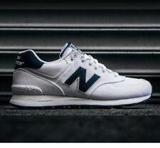 New Balance 574 White Athletic Shoes