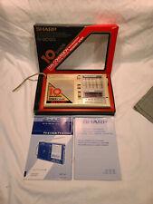 World Band Shortwave Radio Receiver 80s Sharp Fv-610Gg