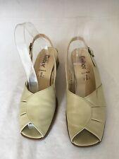 Gabor Comfort Women Beige Slingback Sandals Size 5/38(S17).