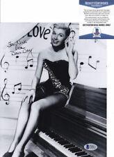 Doris Day Actress Singer Signed Autograph 8x10 Photo Beckett BAS COA #20