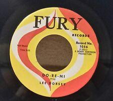 "Lee Dorsey Fury 1056 ""DO-RE-MI"" (GREAT SOUL)   45 SHIPS FREE"