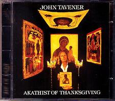 Sir John TAVENER b.1944 Akathist of Thanksgiving CD James BOWMAN Martin NEARY