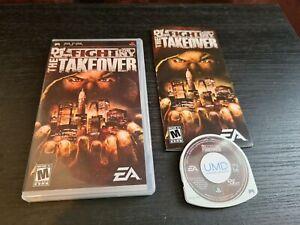 DEF JAM Fight for New York Takeover (Sony PSP) RARE NTSC USA VERSION. VGC.