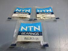 Lot of 3 Nib NTN R6LLBC3/2A Miniature Ball Bearing Bore 9.525 mm OD 22.225 mm