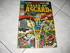 TALES OF ASGARD 1  THOR  BRONZE AGE COMIC BOOK