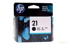 HP Genuine 21 Standard Black Inkjet Print Cartridge CH9351A New In Retail Box