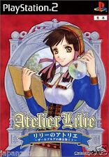 Used PS2 Lilie no Atelier: Salburg no Renkinjutsus SONY PLAYSTATION JAPAN IMPORT