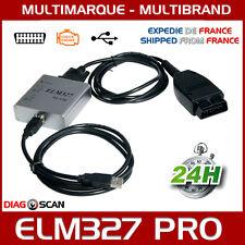 ELM327 USB PRO OBD2 diagnostic multimarque & Logiciel multilingue FR ELM 327 OBD
