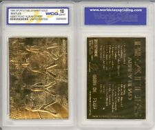 The Beatles UK 23K GOLD BAR TABLET CARD