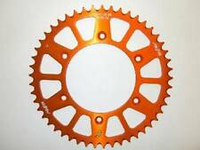 ALL MODELS KTM Orange Aluminum Rear Sprocket 49 Tooth 1991-2019 125-690cc