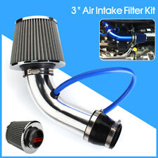 3'' Universal Car Cold Air Intake Filter Aluminum Induction Kit Pipe Hose