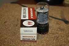 12AV5GA MOTOROLA VINTAGE TUBE - NOS IN BOX