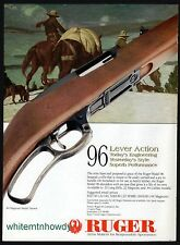 1997 RUGER Model 96 Lever Action Rifle AD