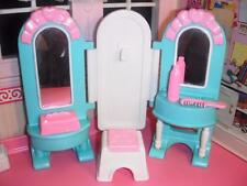 Fisher Price Loving Family Dream Dollhouse Vanity Tissue Box Comb Accessories Lt