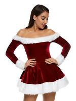 Ann Summers Womens Sexy Miss Santa Outfit Sexy Christmas Costume Fancy Dress