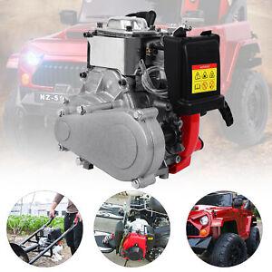 49CC 4-Takt-Benzin-Benzinmotor Motorisierter Fahrrad-Fahrradmotor für Roller, DE
