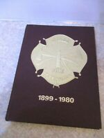 MIAMI FIRE DEPT 1899-1980 YEARBOOK FLORIDA FIRE STATION HISTORY FIREFIGHTER BOOK