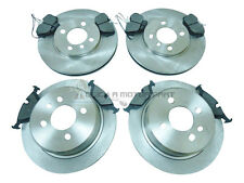 Fits BMW 3 Series E30 325i Genuine Comline Front Vented Brake Discs /& Pad Kit