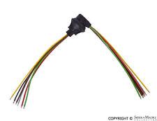 Relay Plug Connector, 6-Pole, Porsche 911, 924S, 944, 968  901.612.330.00