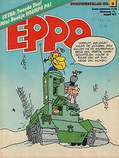 STRIPWEEKBLAD EPPO 1978 nr. 02 - DE GENERAAL (COVER) /  MINI-BOEKJE HOEMPA PA 2