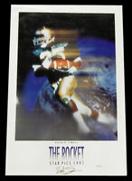 "1991 Star Picks Raghib Ismail ""The Rocket"" 24x36 Poster ^ Notre Dame Football"