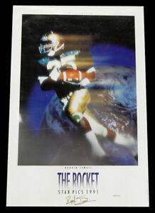 "1991 Star Picks Raghib Ismail ""The Rocket"" 24x36 Poster ^ Notre Dame Football"