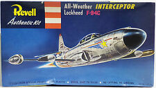 AVIATION : ALL-WEATHER LOCKHEED F-94C INTERCEPTOR REVELL MODEL KIT. REF: H-210