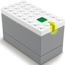 **LEGO NEW TRAIN RAIL POWERED UP 9v BLUETOOTH BATTERY BOX HUB FROM 60198 **