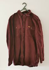 Carhartt Mens Workwear Vintage Flannel Like Shirt Size Large Tall