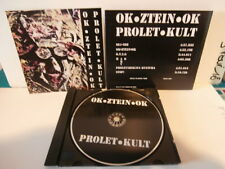 "OK•ZTEIN•OK""PROLET•KULT""cd album.or.usa.KMFDM:034 de 2011.limited édition rare"