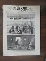 THE GRAPHIC ILLUSTRATED WEEKLY NEWSPAPER APR 24th 1880 RELIEF FOR POOR IRELAND
