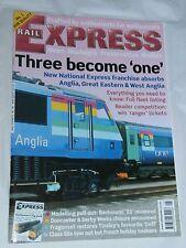 Rail Express Magazine no 96, May 2004.