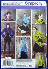 Simplicity Hooded Jacket Hat Wings Costume Sewing Pattern 14,16,18,20,22 1293