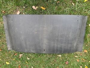 Triumph , TR3, Finished Rear Trunk Lid, Ready To Install & Paint,
