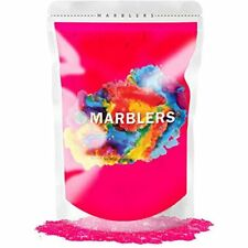 Marblers Mica Powder Colorant 3oz (85g) Neon Pink Pearlescent Pigment Tint Pure