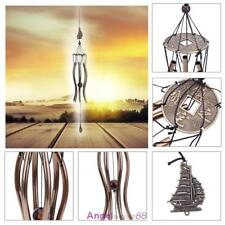 New Wind Chimes Tubes Bells Church Hanging Outdoor Garden Home Decor Lucky Gift