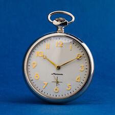MOLNIJA Taschenuhr 3602 russische mechanische Uhr ZODIAK STERNZEICHEN Zodiac